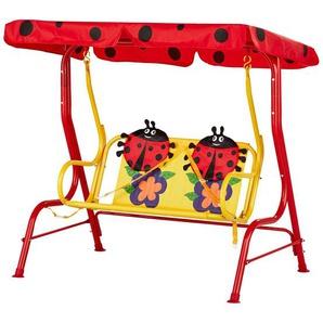 Kinderschaukel  Marie ¦ rot ¦ Maße (cm): B: 108 H: 110 Gartenmöbel  Hollywoodschaukeln » Höffner