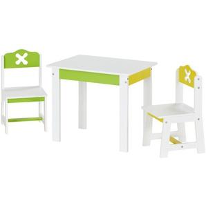 Kindersitzgruppe, 3-teilig ¦ weiß