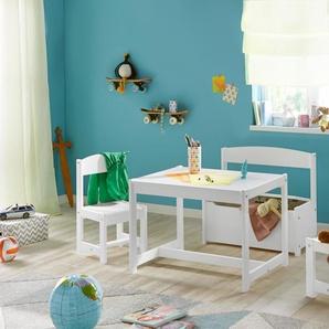 Hoppekids Kindersitzgruppe, weiß, FSC-Zertifikat, , , FSC®-zertifiziert