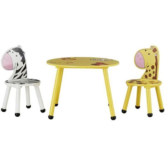 Kindersitzgruppe   gelb  