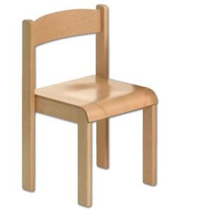 Kinderstuhl Holz Buche geölt Sitzhöhe 26 cm Stuhl für Kinder massiv