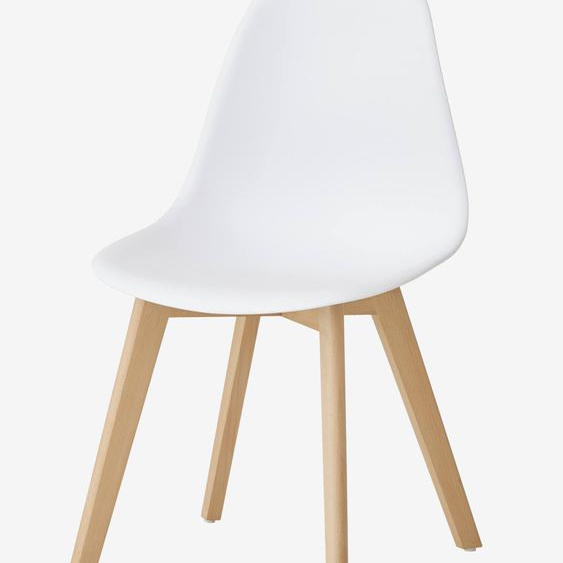 Kinderstuhl ,,Scandinave, Sitzhöhe 45 cm weiß/natur