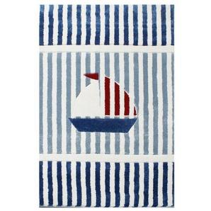 KINDERTEPPICH 160/230 cm Blau, Rot, Weiß: KINDERTEPPICH 160/230 cm Blau, Rot, Weiß