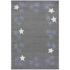 KINDERTEPPICH 160/230 cm Silberfarben: KINDERTEPPICH 160/230 cm Silberfarben