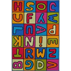 Kinderteppich »Buchstaben«, Andiamo, rechteckig, Höhe 6 mm
