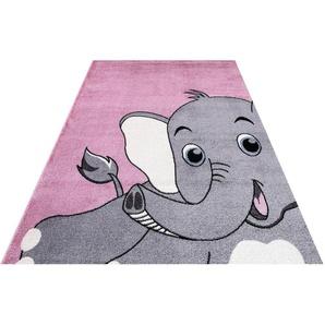 Kinderteppich »Candy 155«, Festival, rechteckig, Höhe 11 mm, Motiv Elefant