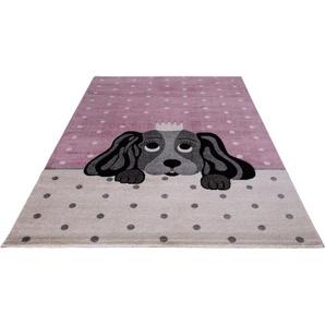 Kinderteppich »Candy 156«, Festival, rechteckig, Höhe 11 mm, Motiv Hund