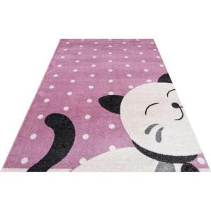 Kinderteppich »Candy 158«, Festival, rechteckig, Höhe 11 mm, Motiv Katze