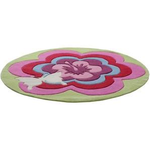 Kinderteppich »Fantasy Flower«, Esprit, rund, Höhe 10 mm