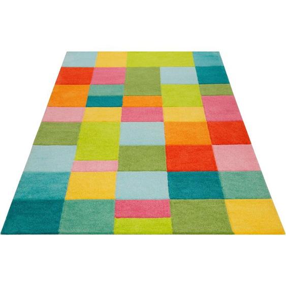 Kinderteppich, Flip da Hip, SMART KIDS, rechteckig, Höhe 9 mm, handgetuftet 3, 120x170 cm, mm bunt Kinder Bunte Kinderteppiche Teppiche