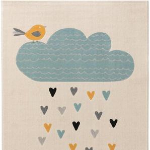 Kinderteppich Juno Beige 160x230 cm