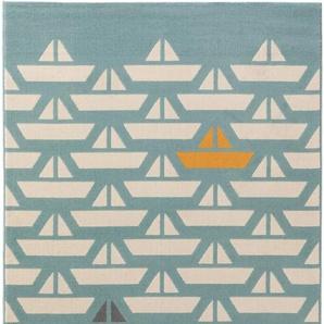 Kinderteppich Juno Türkis 120x170 cm