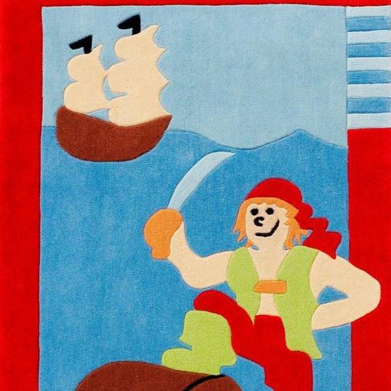 Kinderteppich »Kids 1364«, Böing Carpet, rechteckig, Höhe 10 mm, Konturenschnitt, Kinderzimmer