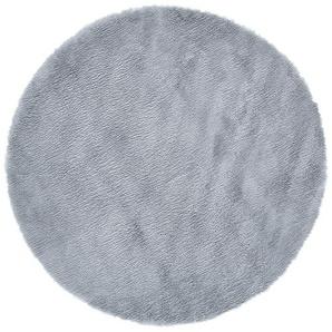 Kinderteppich  Lämmchen ¦ grau ¦ 100 % Polyester, Suede-Rücken, LammfellimitatØ: [120.0] Teppiche  Kinderteppiche » Höffner
