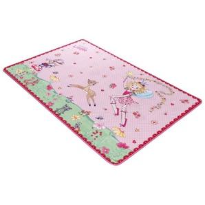 Kinderteppich »LI-101«, Prinzessin Lillifee, rechteckig, Höhe 2 mm