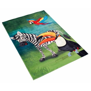 Kinderteppich »Lovely Kids 402«, Böing Carpet, rechteckig, Höhe 6 mm, Stoff Druck, weiche Microfaser