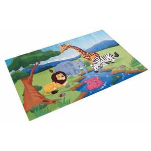 Kinderteppich »Lovely Kids 403«, Böing Carpet, rechteckig, Höhe 6 mm, Stoff Druck, weiche Microfaser