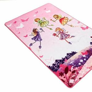 Kinderteppich »Lovely Kids LK-3«, Böing Carpet, rechteckig, Höhe 2 mm, Motiv Elfen, Kinderzimmer