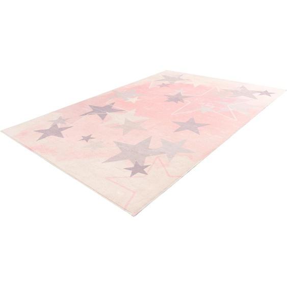 Kinderteppich, My Stars 410, Obsession, rechteckig, Höhe 10 mm, handgetuftet 160x230 cm, mm rosa Kinder Bunte Kinderteppiche Teppiche