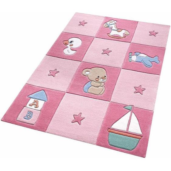 Kinderteppich »Newborn«, SMART KIDS, rechteckig, Höhe 10 mm, Baby Design, Kurzflor