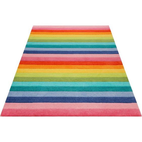 Kinderteppich, Rainbow Stripes, SMART KIDS, rechteckig, Höhe 9 mm, handgetuftet 3, 120x170 cm, mm bunt Kinder Bunte Kinderteppiche Teppiche