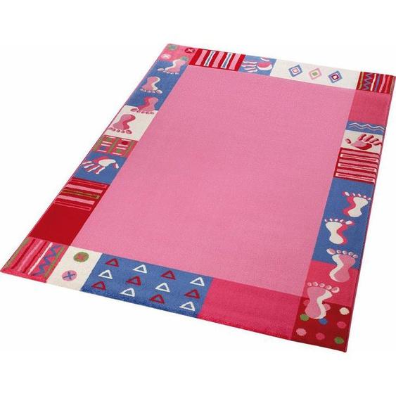 Kinderteppich »Roundly Hand&Feet«, Wecon home, rechteckig, Höhe 8 mm