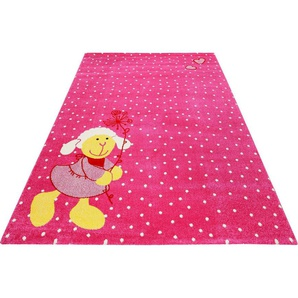 Kinderteppich »Schnuggi«, Sigikid, rechteckig, Höhe 13 mm