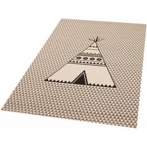 Kinderteppich »Tipi Noya«, Zala Living, rechteckig, Höhe 4 mm