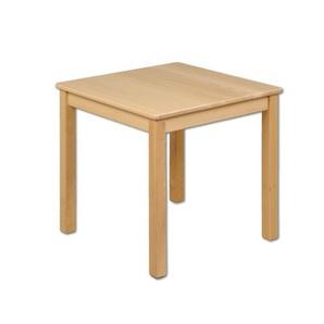 Kindertisch Holz Buche quadratisch massiv Tisch Kinder Kindergarten