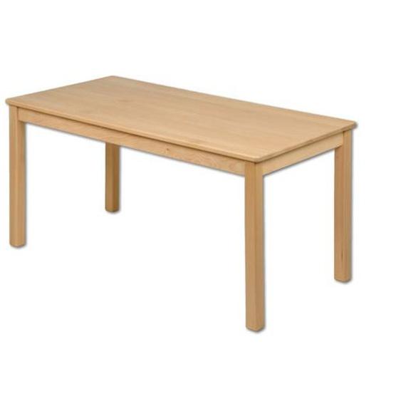 Kindertisch Holz rechteckig Buche Kindergarten massiv Tisch Kinder