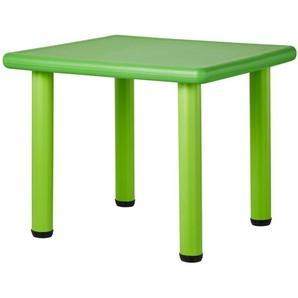 Kindertisch  Kindertisch Grün ¦ grün ¦ Maße (cm): B: 62 H: 50 T: 62