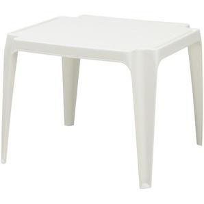 Kindertisch | weiß | Kunststoff | 50 cm | 44 cm | Möbel Kraft