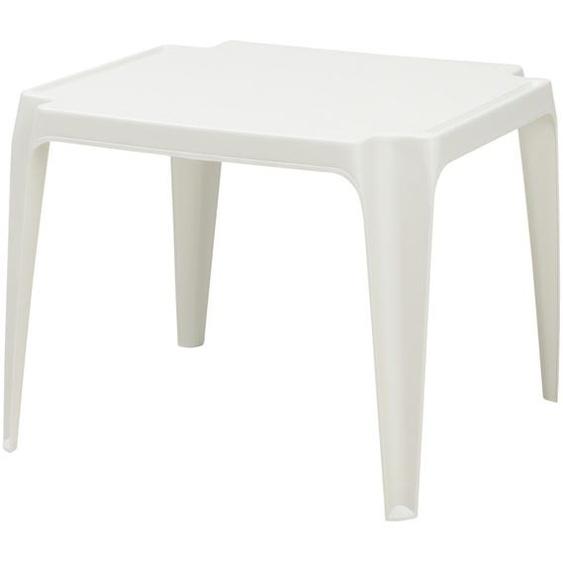 Kindertisch - weiß - Kunststoff | Möbel Kraft