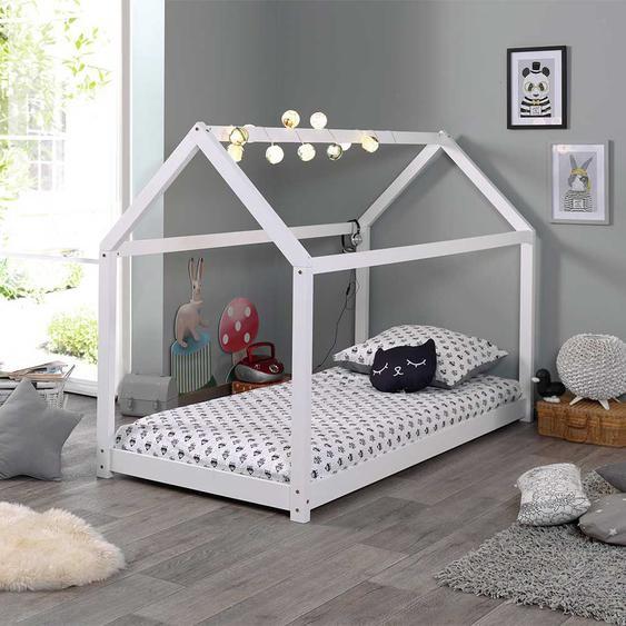 Kinderzimmer Bett in Weiß Haus Design
