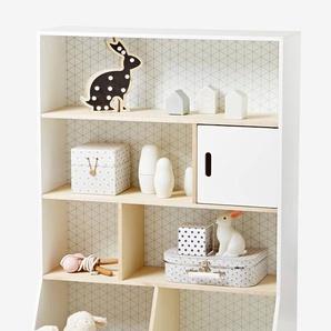 Kinderzimmer Regal weiß/natur