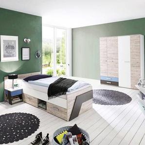 Moderne komplett jugendzimmer bei moebel24 - Jugendzimmer massivholz komplett ...