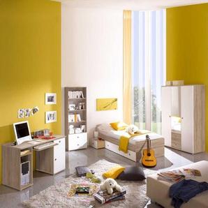 Kinderzimmerm�bel Wei� Sonoma-Eiche (4-teilig)