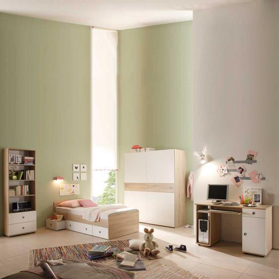Kinderzimmerset Weiß Holz (4-teilig)