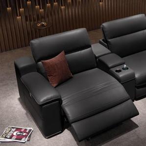 Kino Sofa MACELLO 3-Sitzer mit Mittelkonsolen
