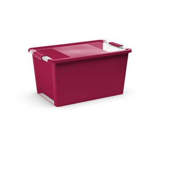KIS Aufbewahrung Bi Box L Rose Red 40 l