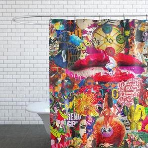 Kiss, 2010-Duschvorhang