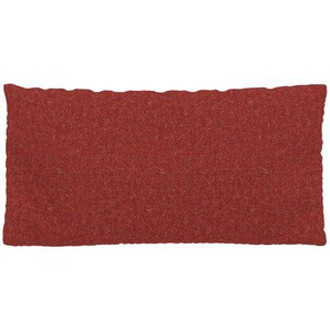Kissen - Blutorange, 40x80cm - Melierte Wolle, individuell konfigurierbar