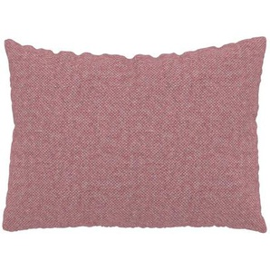Kissen - Bonbonrosa, 48x65cm - Melierte Wolle, individuell konfigurierbar