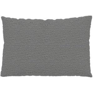 Kissen - Granitweiß, 40x60cm - Strukturgewebe, individuell konfigurierbar