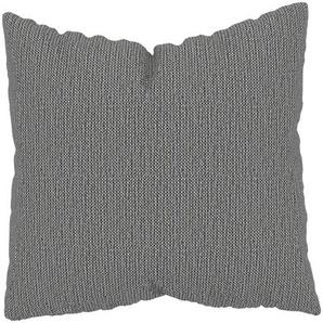 Kissen - Granitweiß, 50x50cm - Strukturgewebe, individuell konfigurierbar
