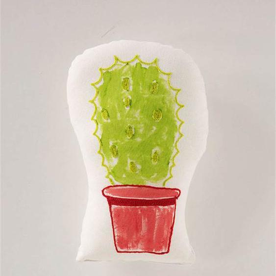 Kissen Kaktus - bunt - Baumwolle, Füllung: Synthetik - Zierkissen & Polsterrollen  Zierkissen
