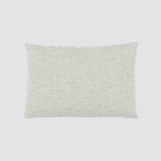 Kissen - Naturweiß, 40x60cm - Wolle, individuell konfigurierbar