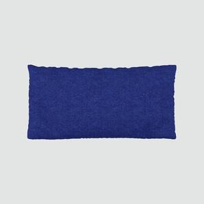 Kissen - Tintenblau, 40x80cm - Wolle, individuell konfigurierbar