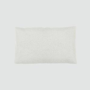 Kissen - Weiß, 30x50cm - Webstoff, individuell konfigurierbar