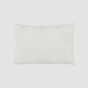 Kissen - Weiß, 40x60cm - Webstoff, individuell konfigurierbar